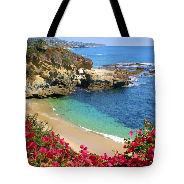 Arch Rock And Beach Laguna Tote Bag