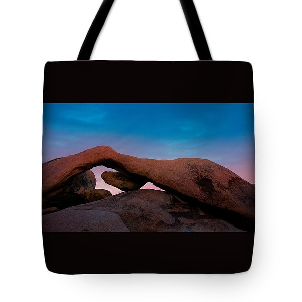 Arch Rock Evening Tote Bag