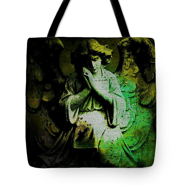 Archangel Uriel Tote Bag