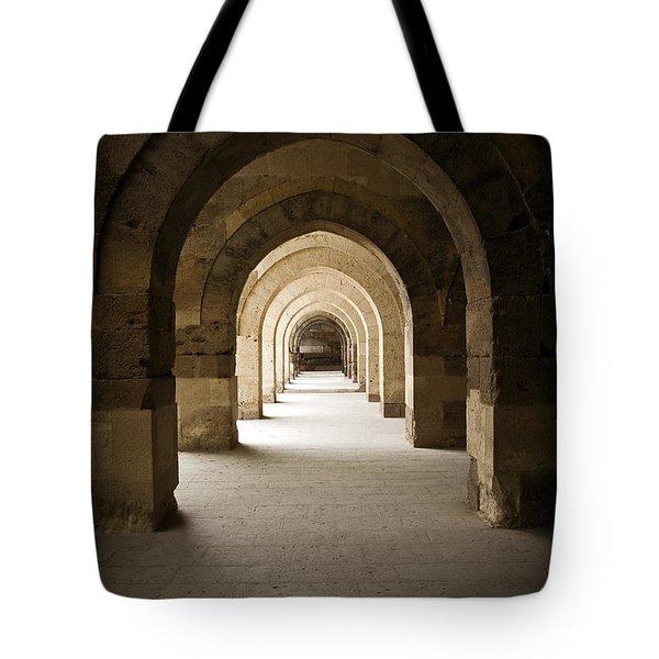 Arched Colonade Tote Bag
