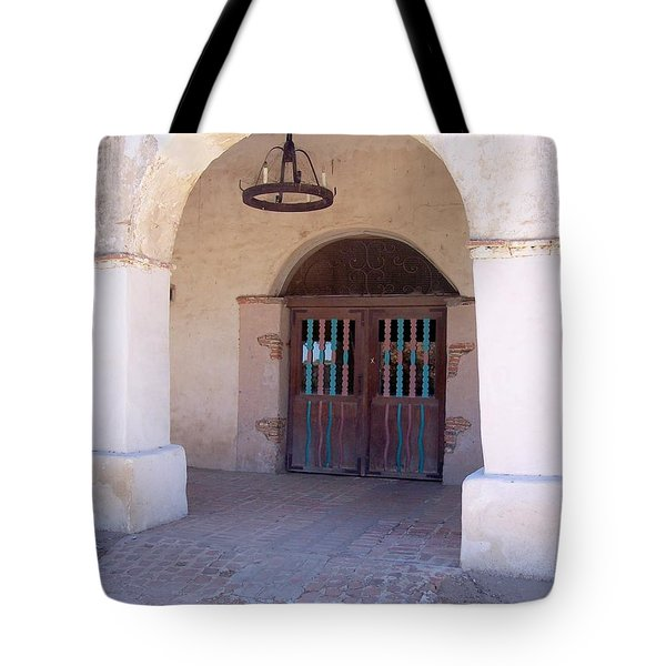 Arched Doorway Tote Bag