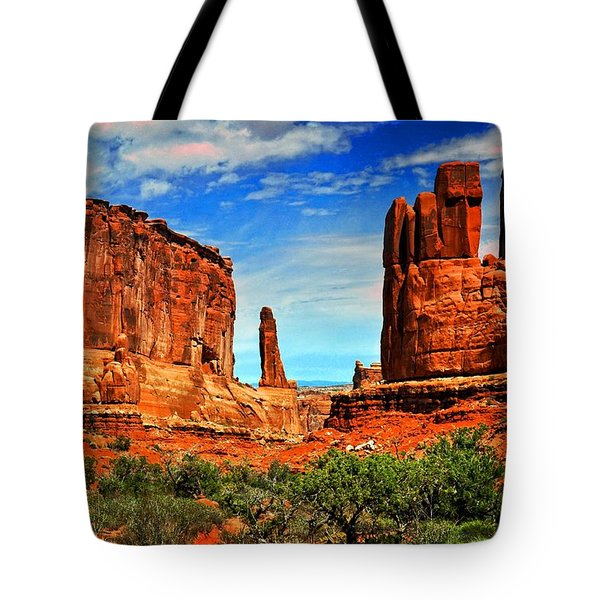 Arches 15 Tote Bag by Marty Koch