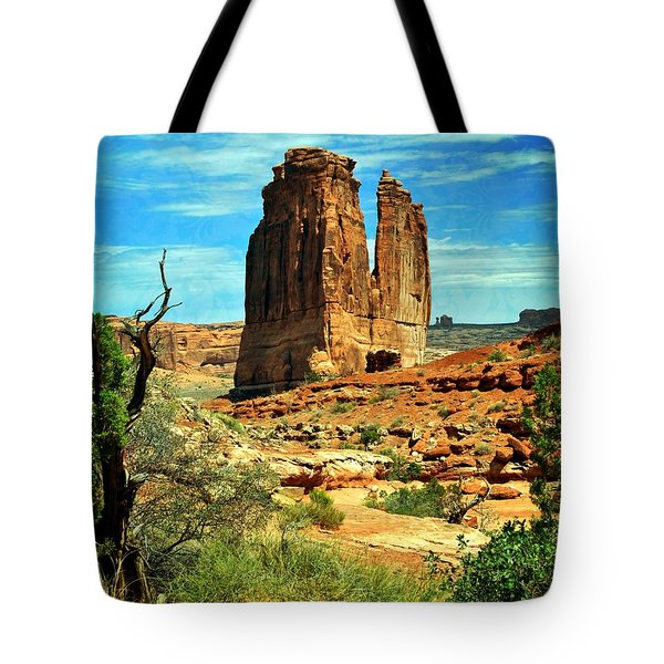 Arches 23 Tote Bag by Marty Koch