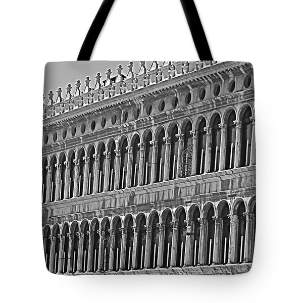 Arches And Columns In Piazza San Marco Tote Bag