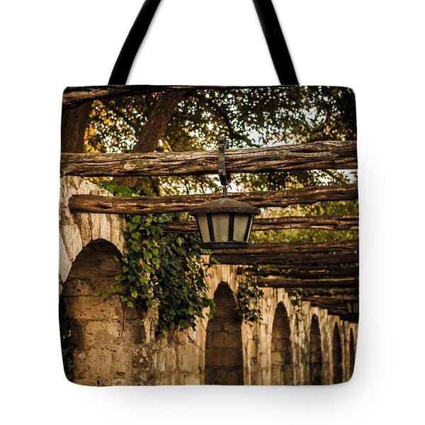 Arches At The Alamo Tote Bag
