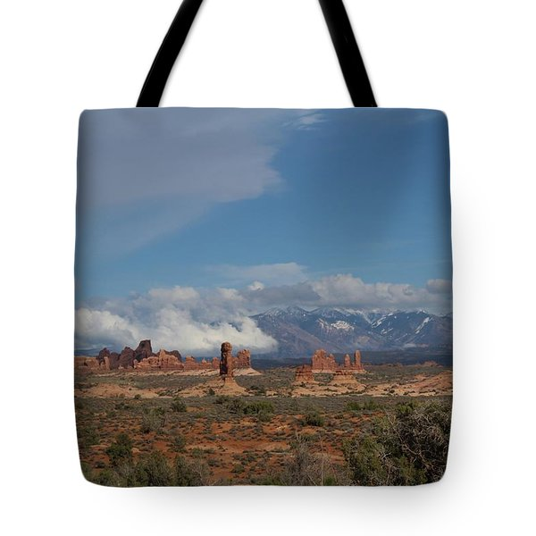 Arches National Monument Utah Tote Bag