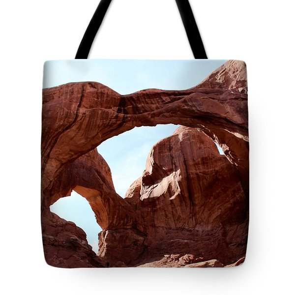Arches National Park Tote Bag by Suzanne Lorenz