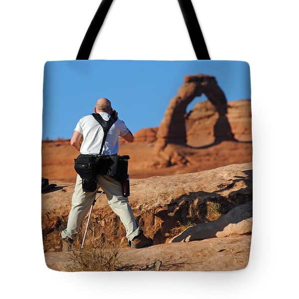 Arches Np 27 Tote Bag