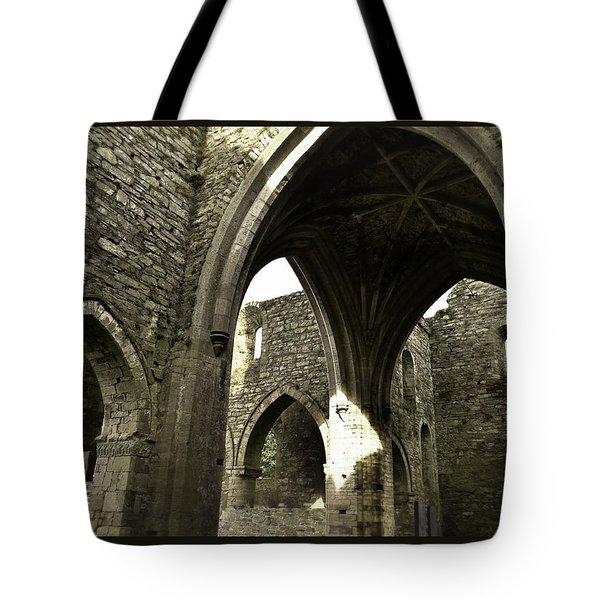 Arches Of Ages - Jerpoint Abbey Tote Bag