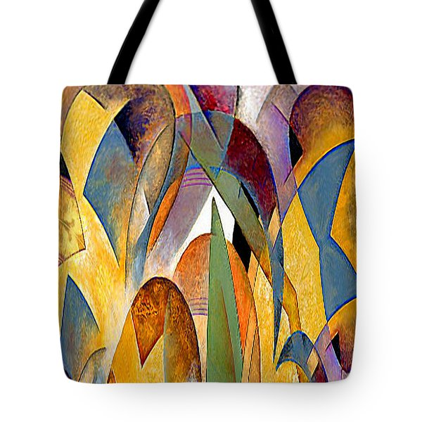Tote Bag featuring the mixed media Arches by Rafael Salazar