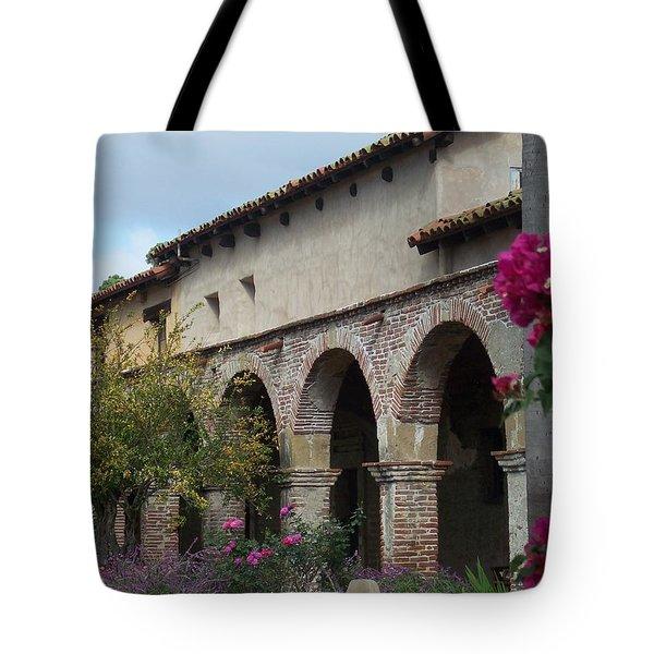 Arches San Juan Capistrano Tote Bag
