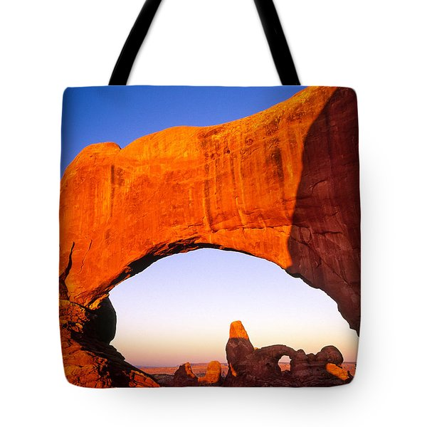 Arches Window Tote Bag