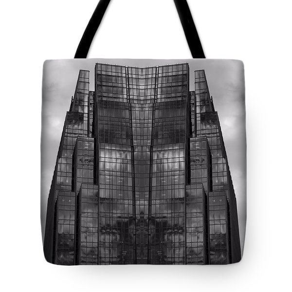 Architect's Dream Black And White Tote Bag by Dan Sproul