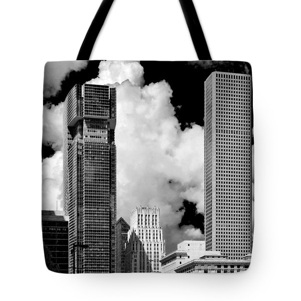 Architectural Diversity Houston Tx Tote Bag by Christine Till
