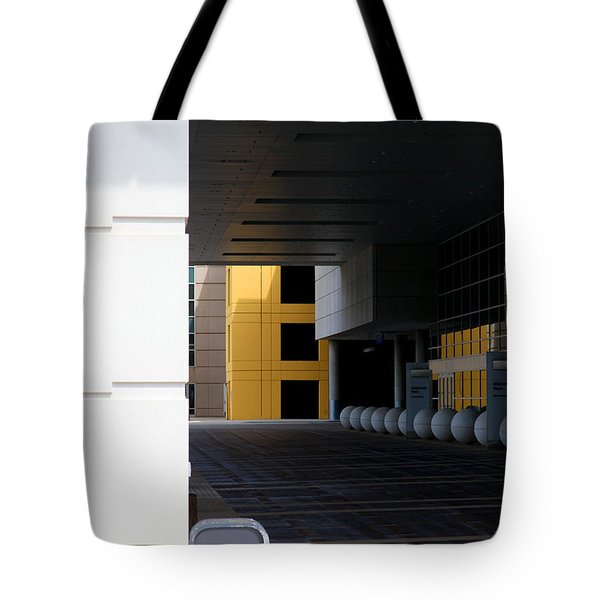 Architectural Pattern Spheres Tote Bag