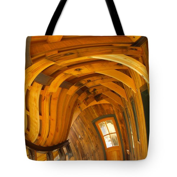 Architecture By Seuss Tote Bag by Omaste Witkowski