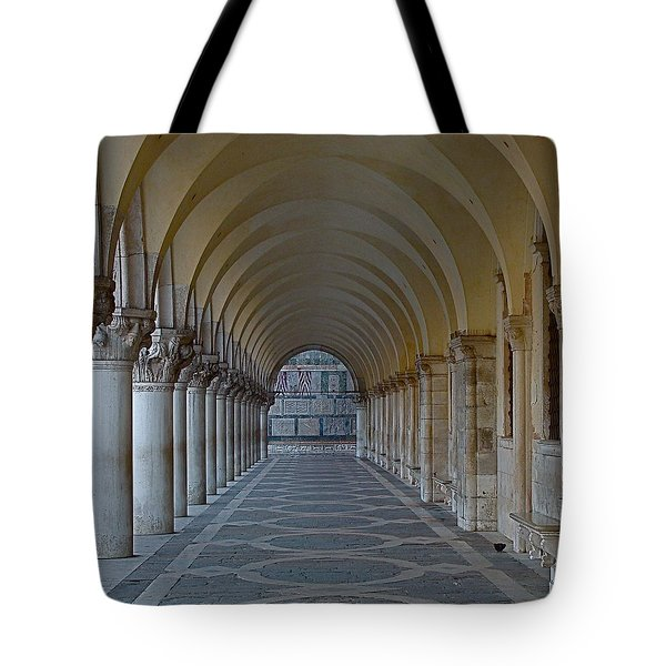 Archway In Piazza San Marco Tote Bag by Rita Mueller