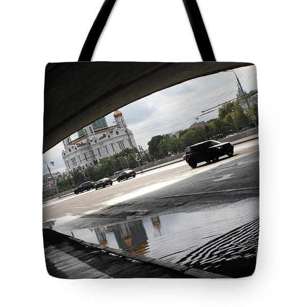 Archway Of Greater Stone Bridge In Moscow II Tote Bag by Anna Yurasovsky