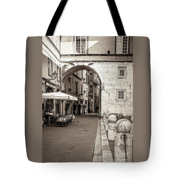 Archway Over Street Tote Bag
