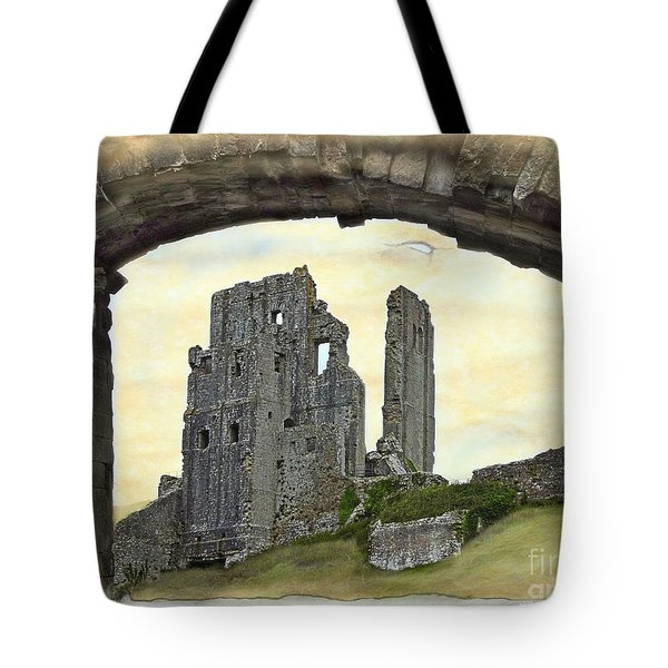 Archway To History Tote Bag by Linsey Williams