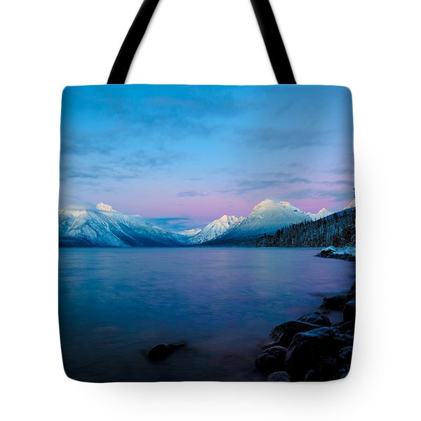 Tote Bag featuring the photograph Arctic Slumber by Aaron Aldrich