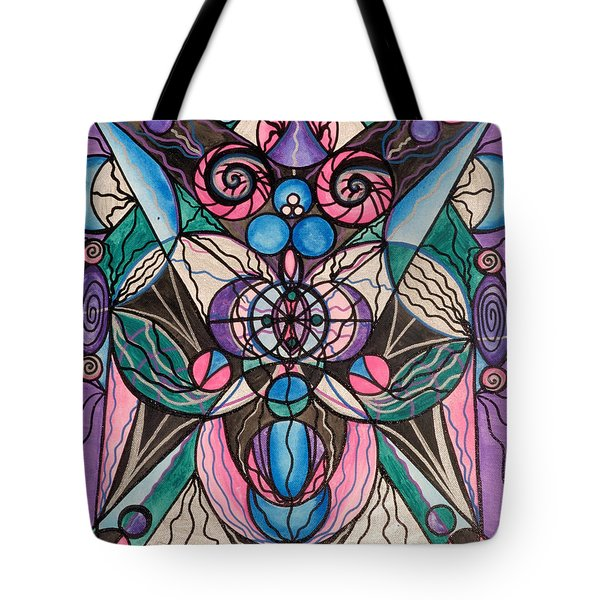 Arcturian Healing Lattice  Tote Bag