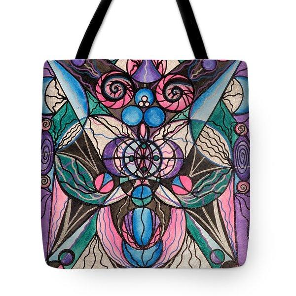 Arcturian Healing Lattice  Tote Bag