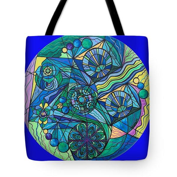Arcturian Immunity Grid Tote Bag