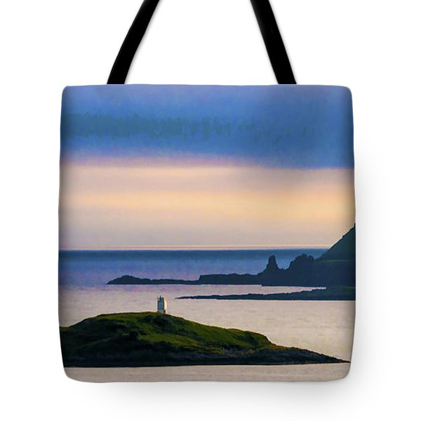 Ardtreck Point Lighthouse Tote Bag