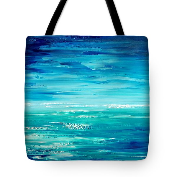 Tote Bag featuring the painting Are We There Yet? by Tatiana Iliina