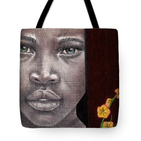 Are You Serious? Tote Bag by Edith Peterson-Watson