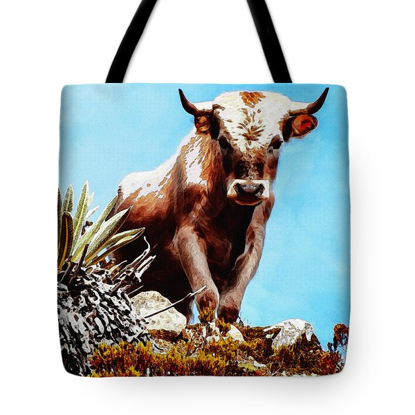 Are You Talking To Me? Tote Bag by Ayse Deniz