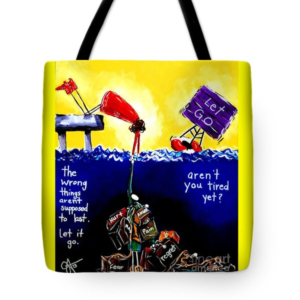 Aren't You Tired Yet? Tote Bag by Jackie Carpenter