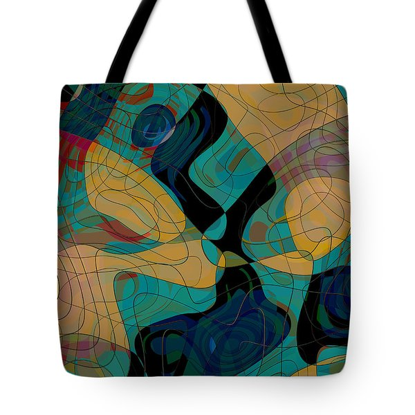 Ares Helmeted Tote Bag