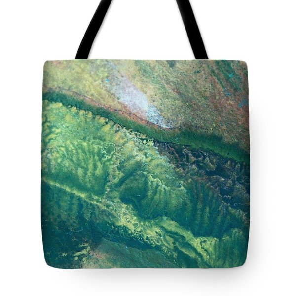 Ariel View Of Venus Tote Bag by James Welch