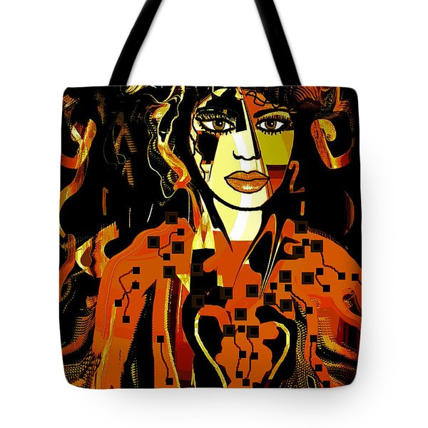 Arielle Tote Bag by Natalie Holland