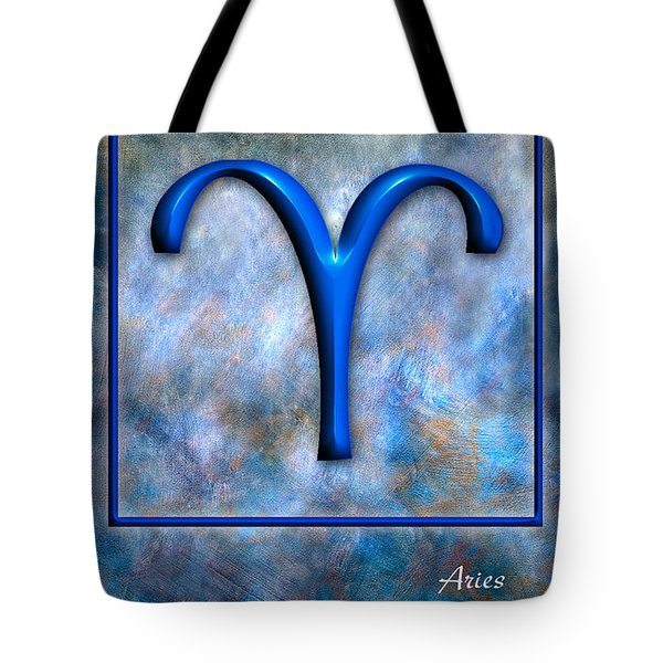 Aries  Tote Bag by Mauro Celotti