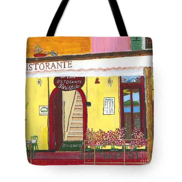 Aristede In Cinque Terra Tote Bag