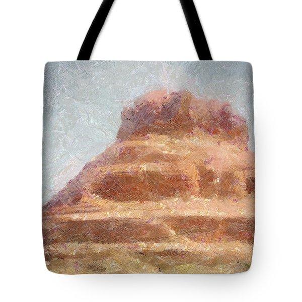Arizona Mesa Tote Bag by Jeff Kolker