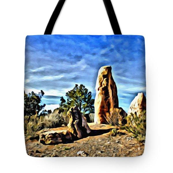 Arizona Monolith Tote Bag