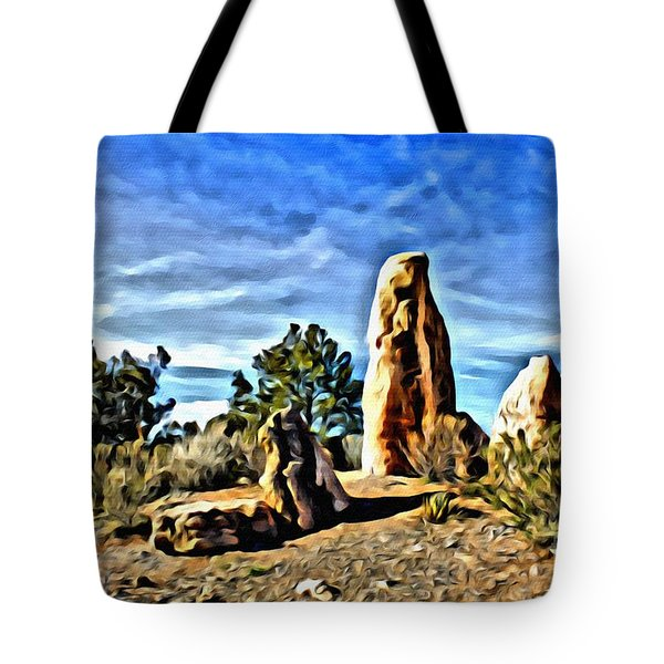 Arizona Monolith Tote Bag