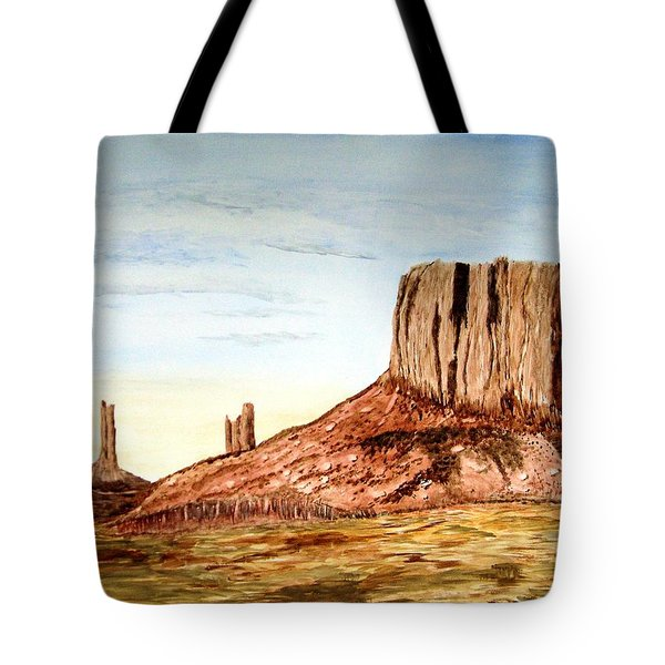 Arizona Monuments 2 Tote Bag