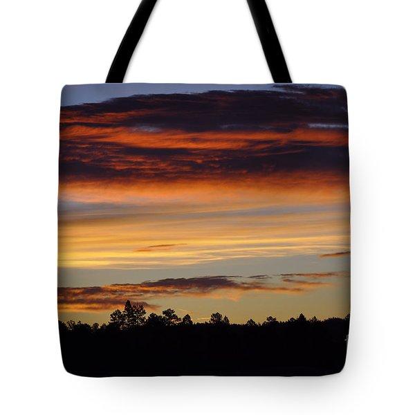 Arizona Morning  Tote Bag by Juls Adams