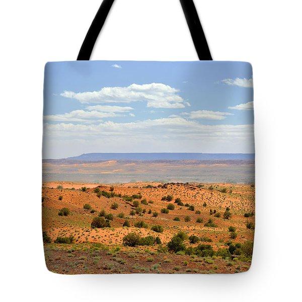 Arizona Near Canyon De Chelly Tote Bag by Christine Till