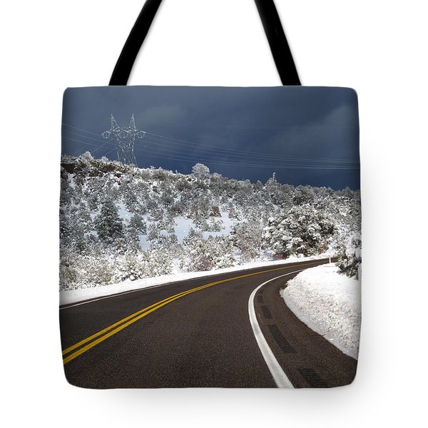 Arizona Snow 2 Tote Bag
