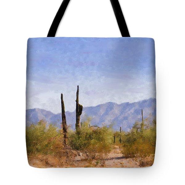 Arizona Sonoran Desert Tote Bag