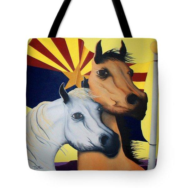 Arizona Spirit Tote Bag by Patrick Trotter