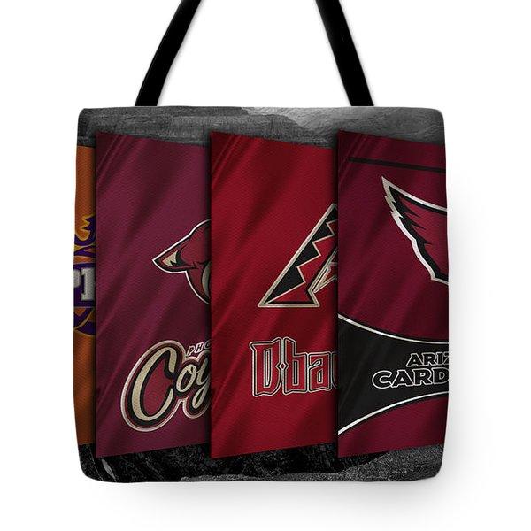 Arizona Sports Teams Tote Bag