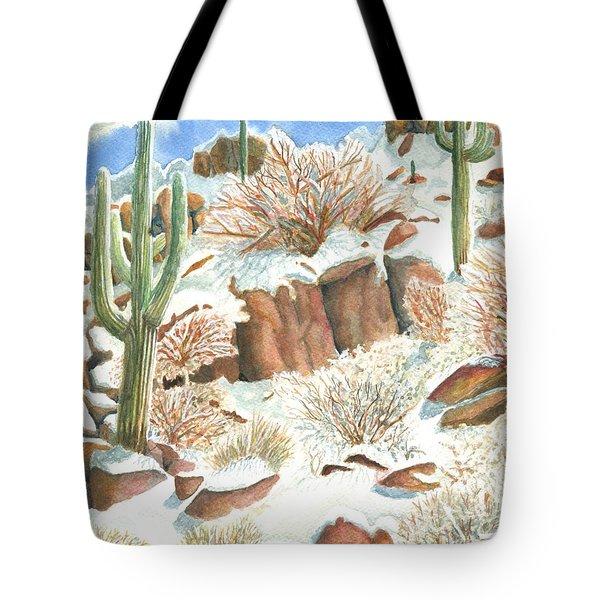 Arizona The Christmas Card Tote Bag