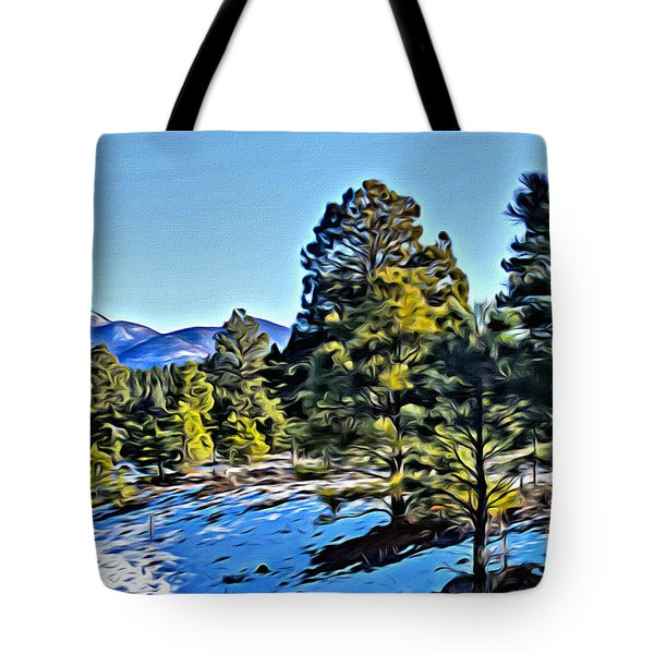 Tote Bag featuring the photograph Arizona Winter by Beauty For God